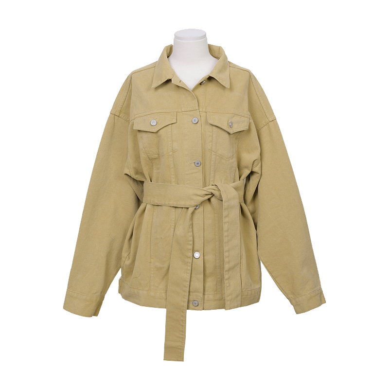 Flap Check Pocket Buttoned Front Jacket by Stylenanda
