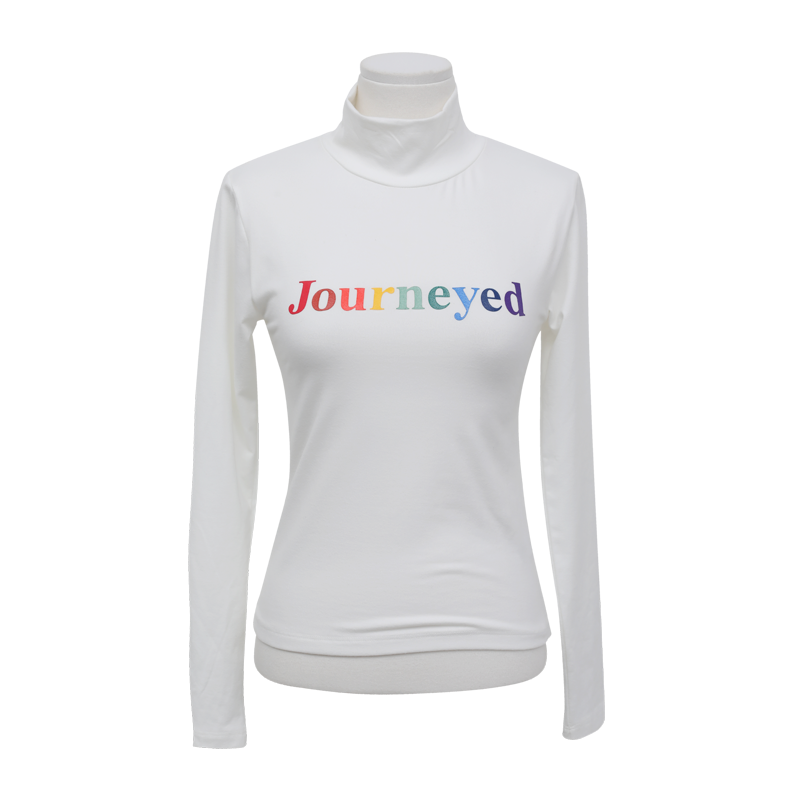Journeyed Lettering Print T Shirt The Delivery Starts From 26th Aug. Along With Your Purchase Order!! by Stylenanda