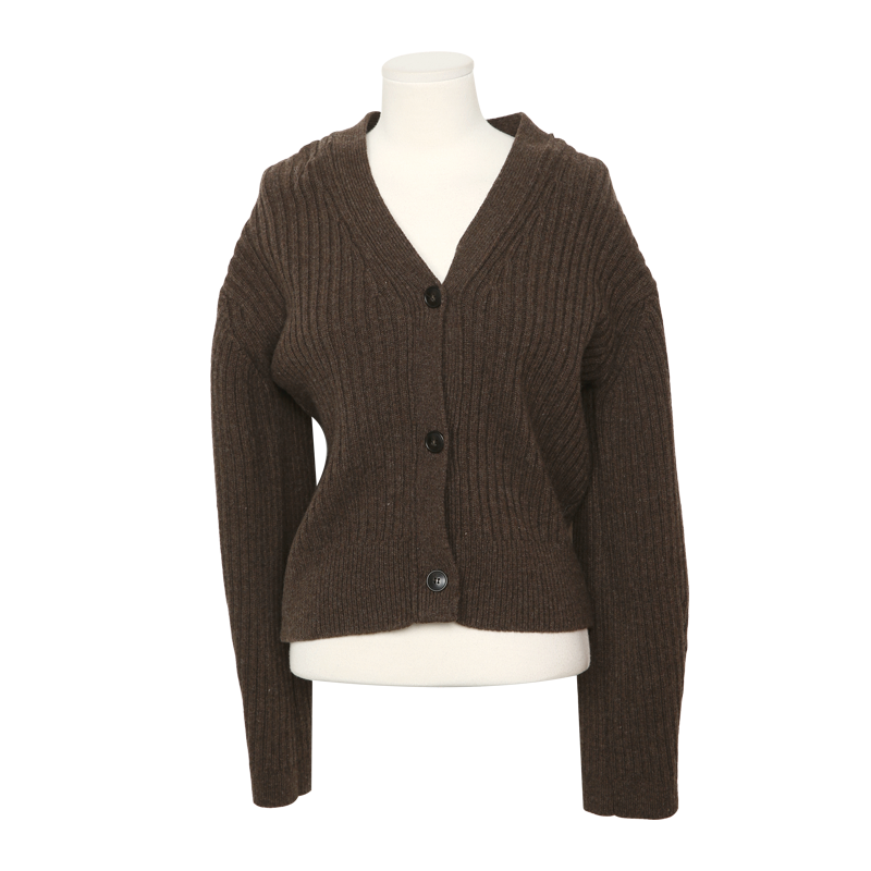 Extended Sleeve Ribbed Cardigan The Delivery Starts From 26th Aug. Along With Your Purchase Order!! by Stylenanda
