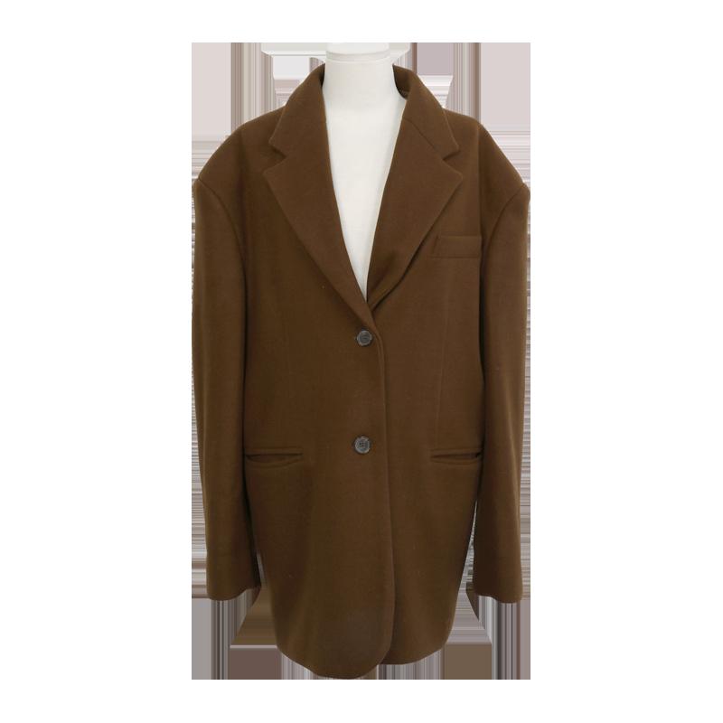 Loose Single Breasted Jacket by Stylenanda