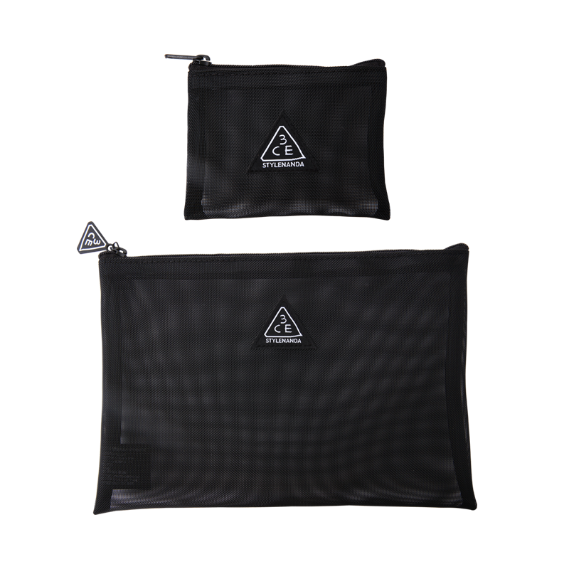 3 Ce Mesh Pouch by Stylenanda