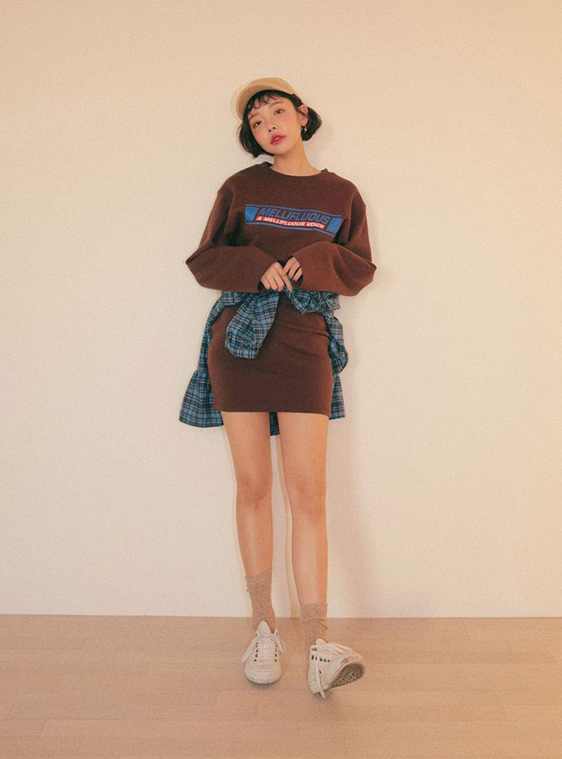 Mini dress stylenanda hongdae