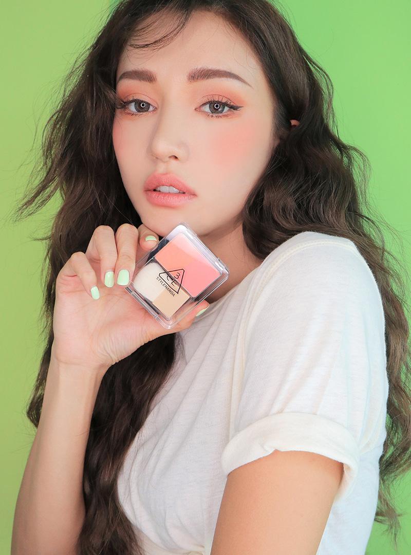 Jual Murah Makeover Cheek Marble Blush On Terbaru 2018 Tcash Vaganza 26 Harpic Pembersih Kloset Power Orange 450 Ml 3ce Stylenanda Product Dual Blend Blusher Shrug